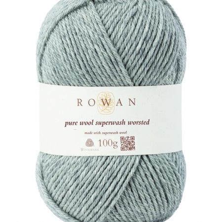 Rowan Pure Wool Superwash Worsted Farbe 112 moonstone