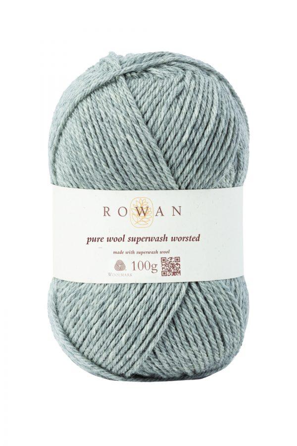 Rowan Pure Wool Superwash Worsted Farbe 112 moonstone