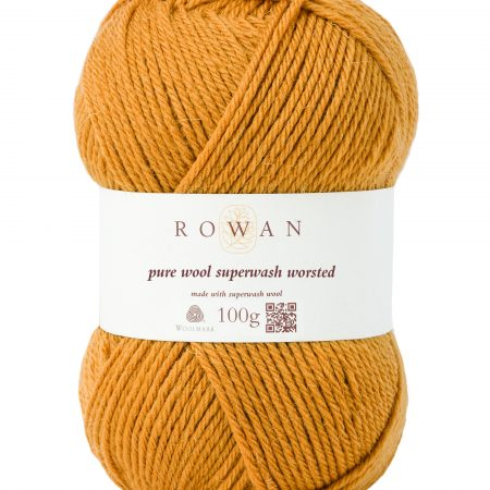 Rowan Pure Wool Superwash Worsted Farbe 133 gold
