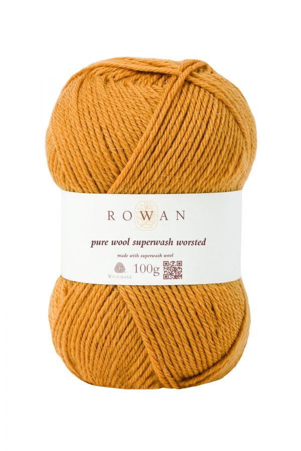 Rowan Pure Wool Superwash Worsted Farbe 133 gold