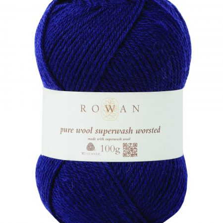 Rowan Pure Wool Superwash Worsted Farbe 149 navy