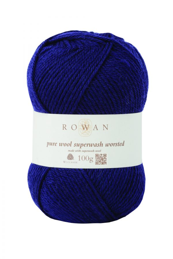 Rowan Pure Wool Superwash Worsted Farbe 149 navy