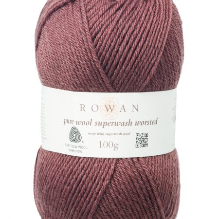 Rowan Pure Wool Superwash Worsted Farbe 188 toffee