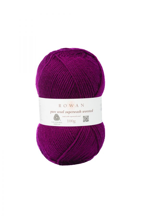 Rowan Pure Wool Superwash Worsted Farbe 189 windsor