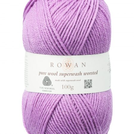 Rowan Pure Wool Superwash Worsted Farbe 191 mauve mist