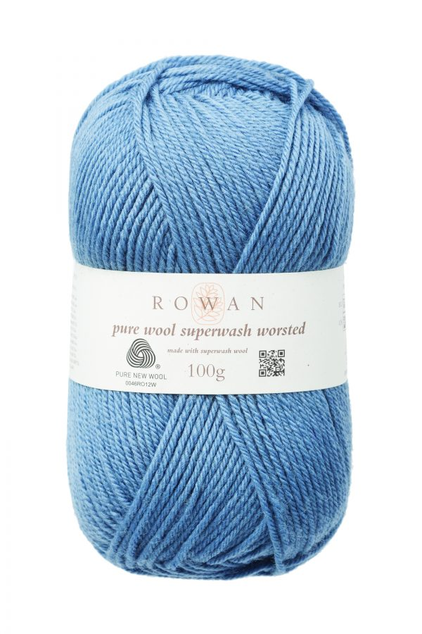 Rowan Pure Wool Superwash Worsted Farbe 192 mineral