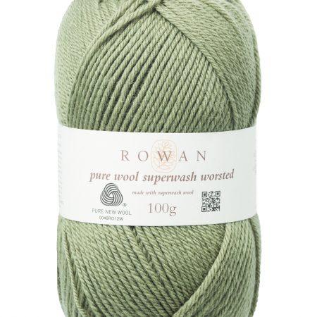 Rowan Pure Wool Superwash Worsted Farbe 193 fern