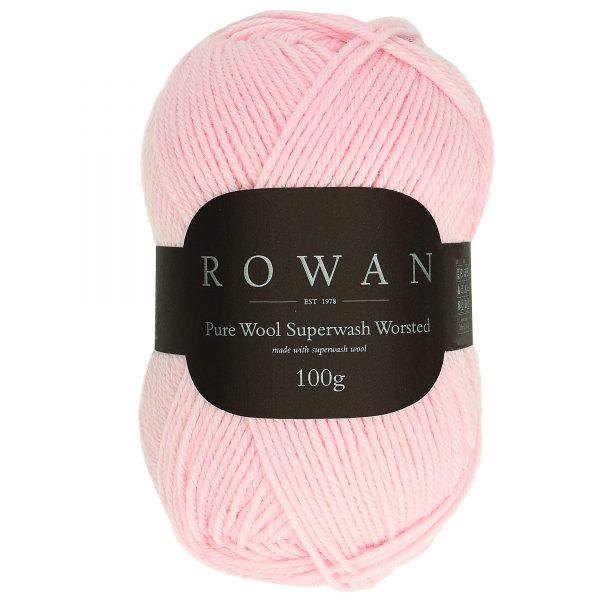 Rowan Pure Wool Superwash Worsted Farbe 196 carnation