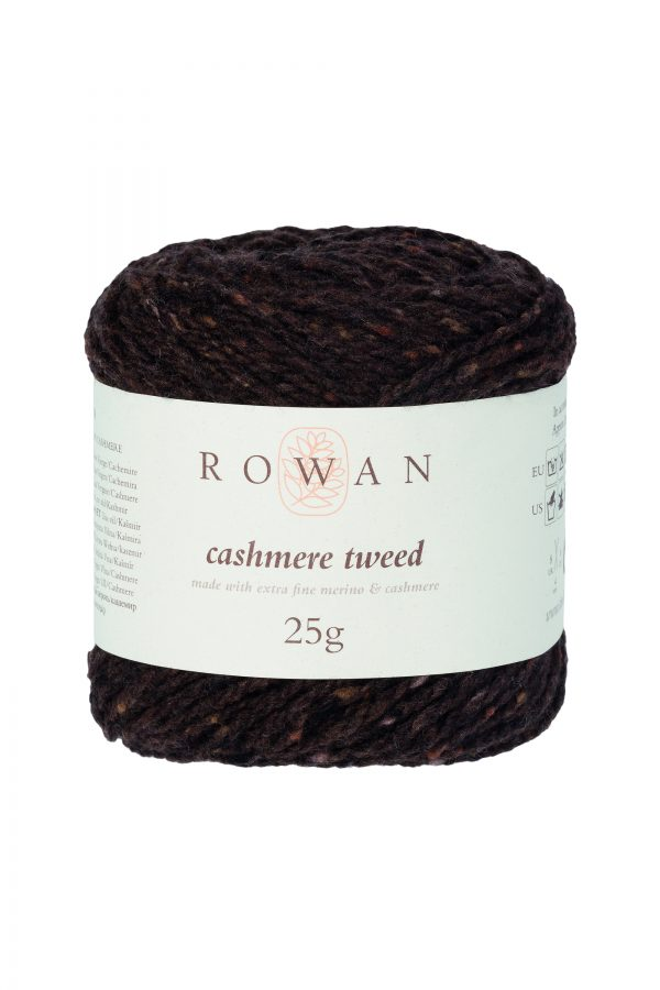 Rowan Cashmere Tweed Farbe 008 Chocolate