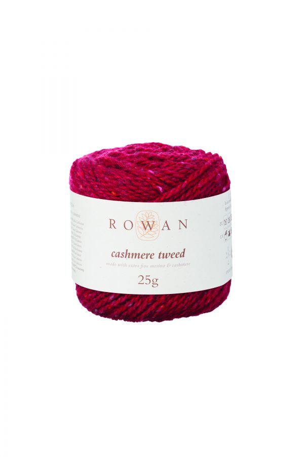 Rowan Cashmere Tweed Farbe 009 Ruby