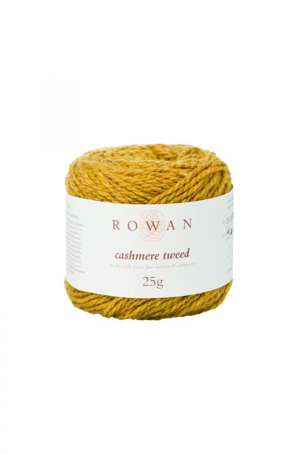 Rowan Cashmere Tweed Farbe 010 Mustard
