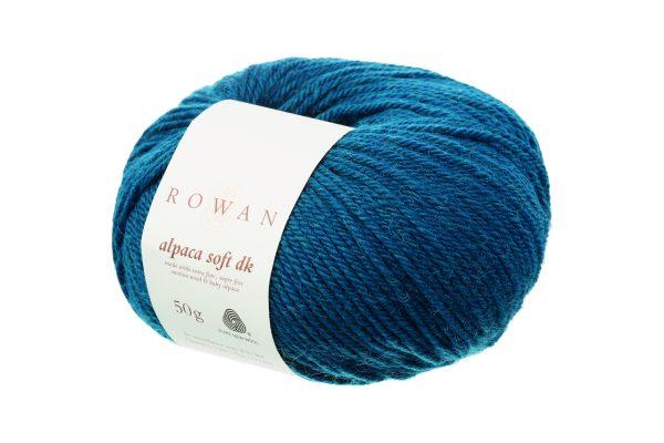 Rowan Alpaca Soft DK Farbe 213 Green Teal