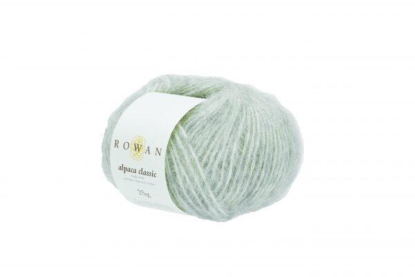 Rowan Alpaca Classic Farbe 101 Feather Grey Melange