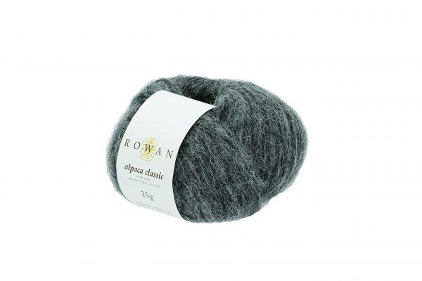 Rowan Alpaca Classic Farbe 102 Charcoal Melange