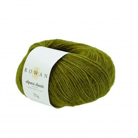 Rowan Alpaca Classic Farbe Farbe 111 Green Moss
