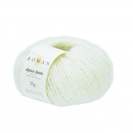 Rowan Alpaca Classic Farbe Farbe 115 Snowflake White