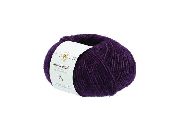 Rowan Alpaca Classic Farbe 123 Purple Rain